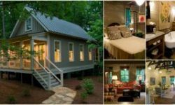 Camp Callaway Cottage is 1091 Sq Ft Pure Cozyness Tiny House Tour 15 s Video