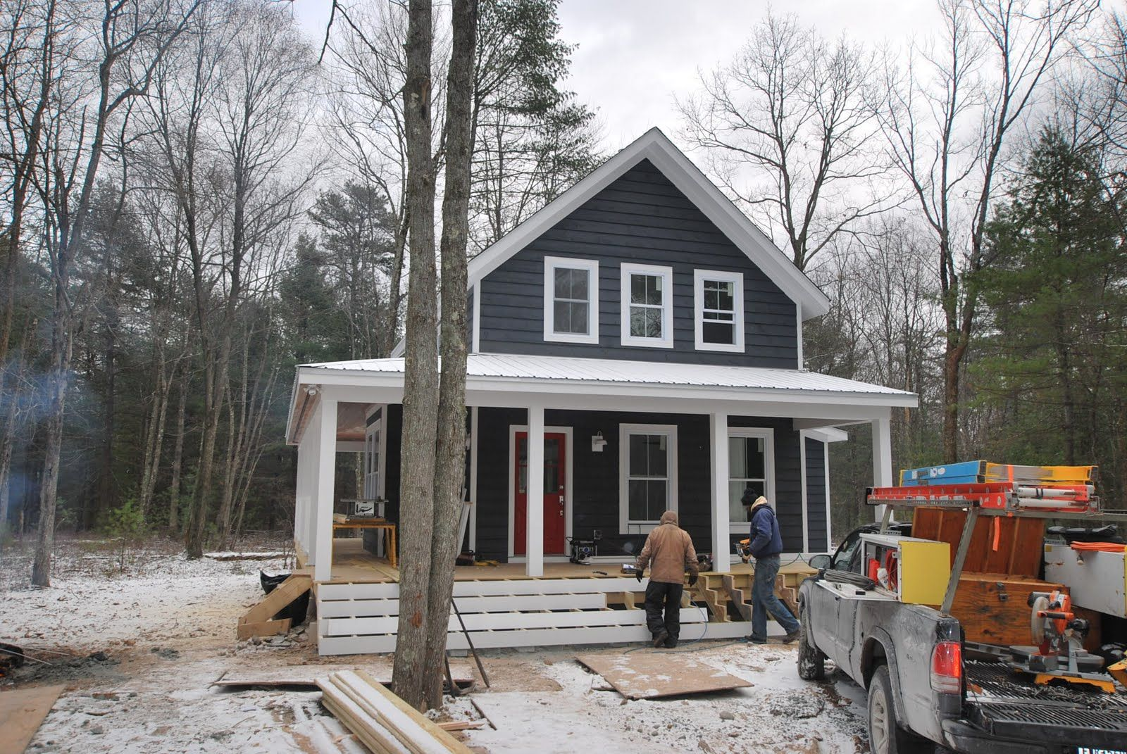 Best Houses With Slate Grey Siding Catskill Farms Journal 640 x 480