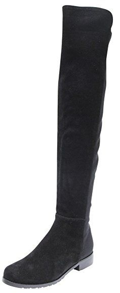 71add243345 Kaitlyn Pan Flat Heel Genuine Leather Over The Knee Boots