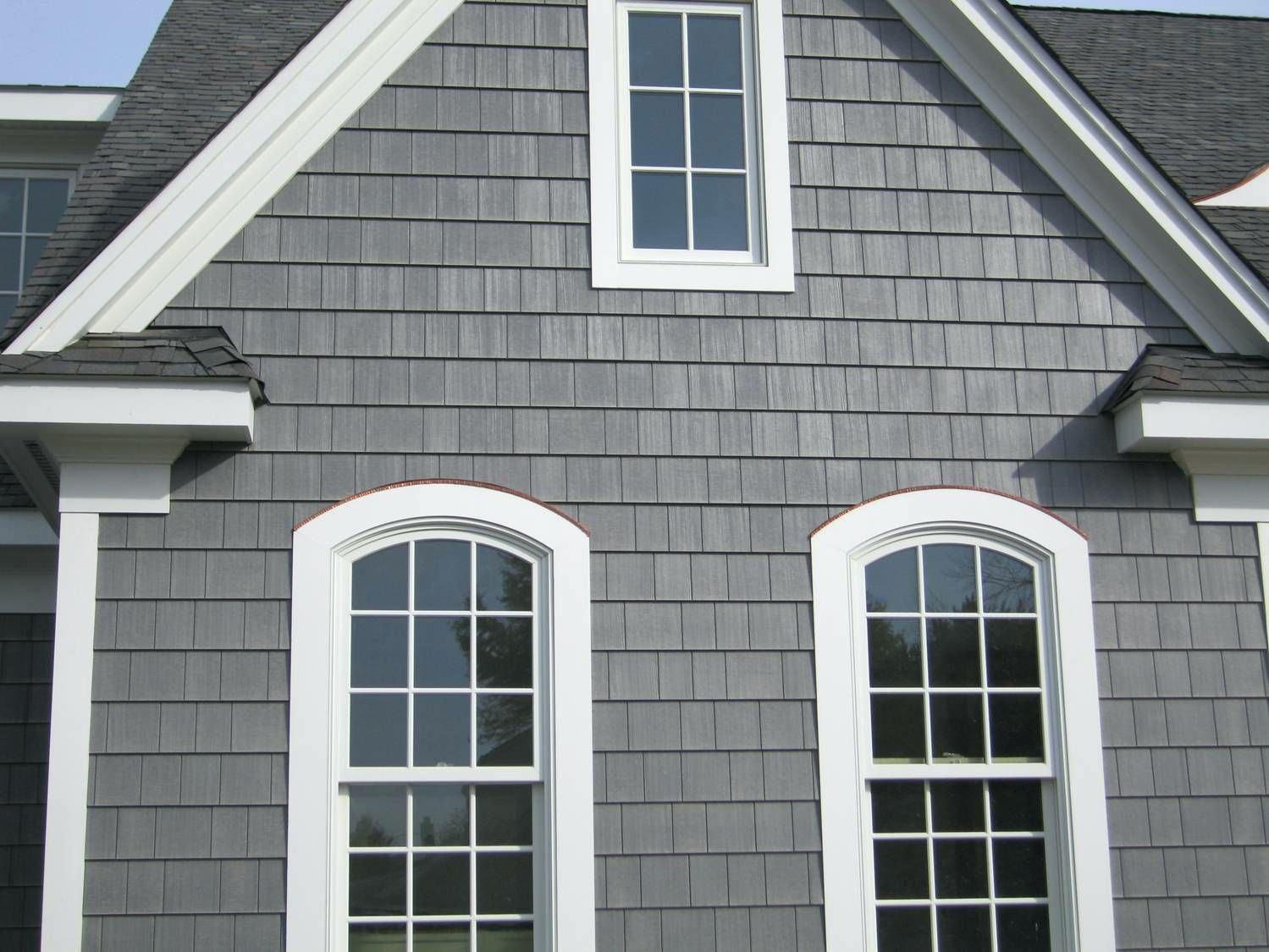 Vinyl Cedar Shakes Shake Siding Images Vs Cost Canada House Paint Exterior Exterior House Colors Grey Exterior House Colors