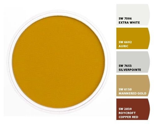 Chip It By Sherwin Williams Sarah S Office Yellow Ochre Paint Color Crazy