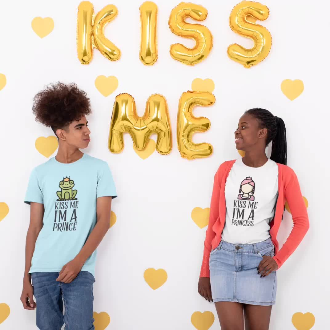 Awesome KISS ME Valentine statement design for your closet. A fun design for Valentines Day.  Click the link to find yours! 🥰 Funny design for men, women, adults as well as children.  . . #fashion #fashionlover #fashionformen #fashionmen #fashiongram #style #tshirts #Shirts #findyourthing #redbubble #teezily #shirtee #teespring #spreadmystyle #shirt #tee #tshirt #shirtshop #shirtdesign #glam #sexyshirts #sexyshirt #fashionable #newbrand #coolesshirt #lieblingsteil #lieblingsshirt #valentinesday