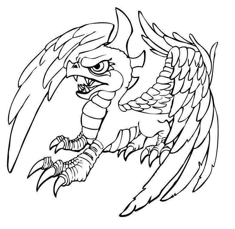 skylanders coloring pages dejau printable - photo#7
