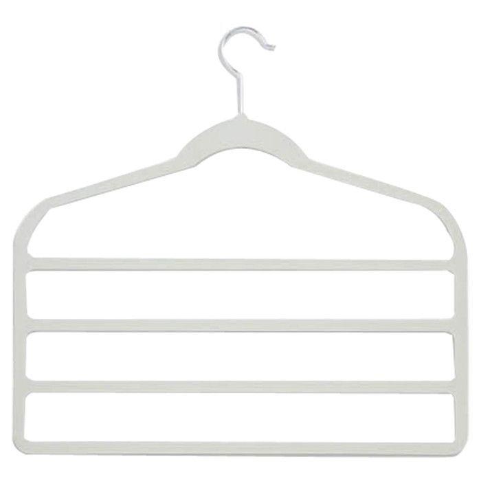 Wayfair Basics Velvet 4-Tier Pant Hanger Set