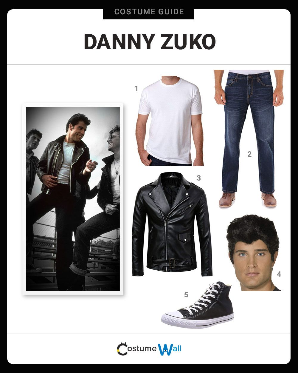 Dress Like Danny Zuko