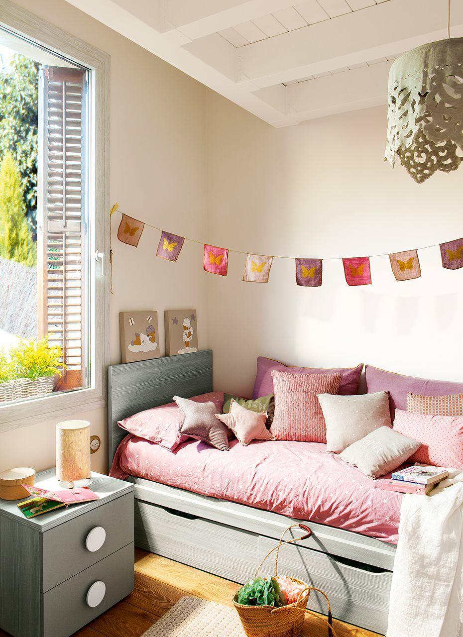 En la habitaci n infantil dormitorio habitaci n for Como decorar mi cuarto juvenil yo misma