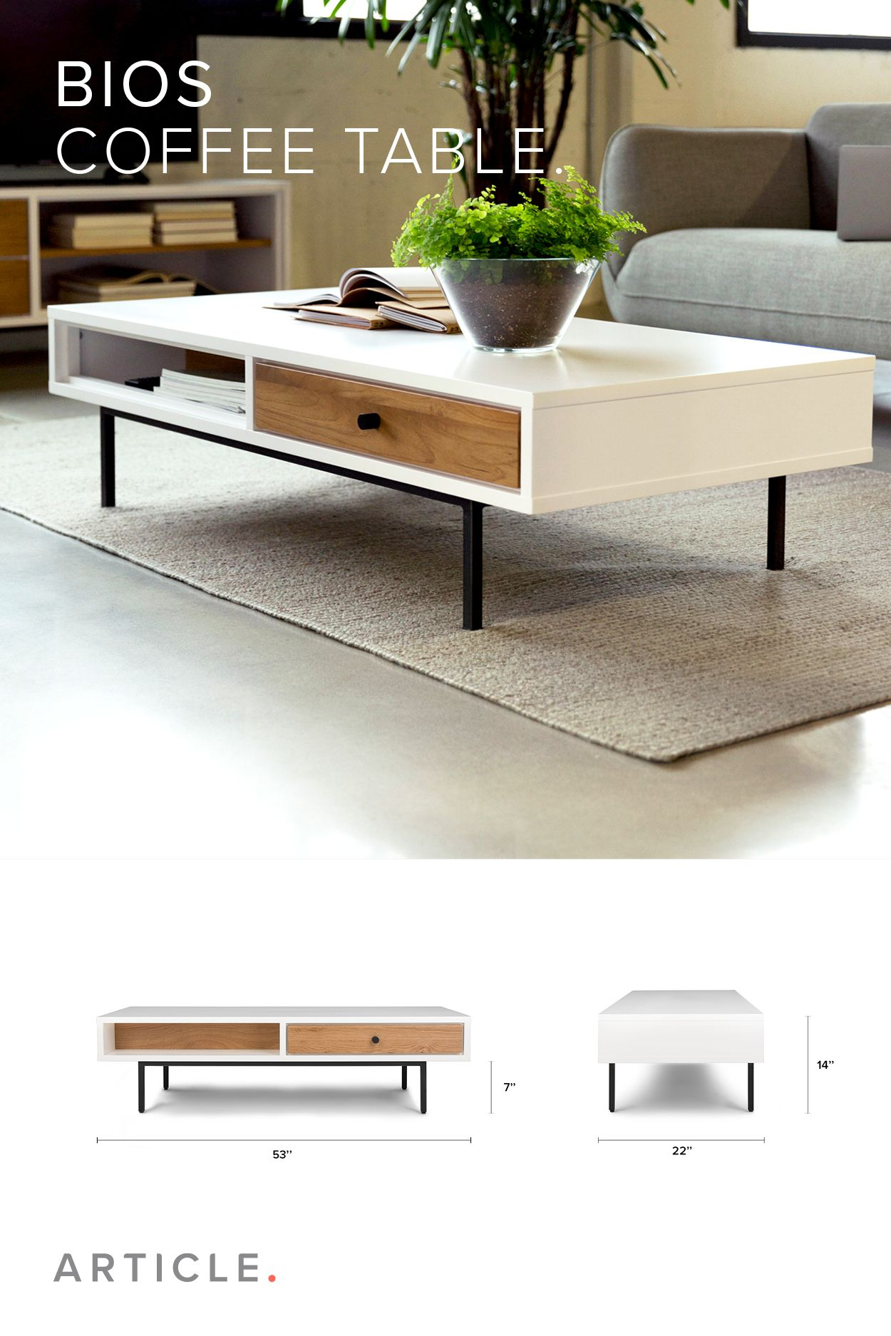 Beauty In Versatility The New Bios Table Pairs Smooth Glossy White Lacquer With Rugged Wild Oa Center Table Living Room Coffee Table Centre Table Living Room [ 1875 x 1250 Pixel ]