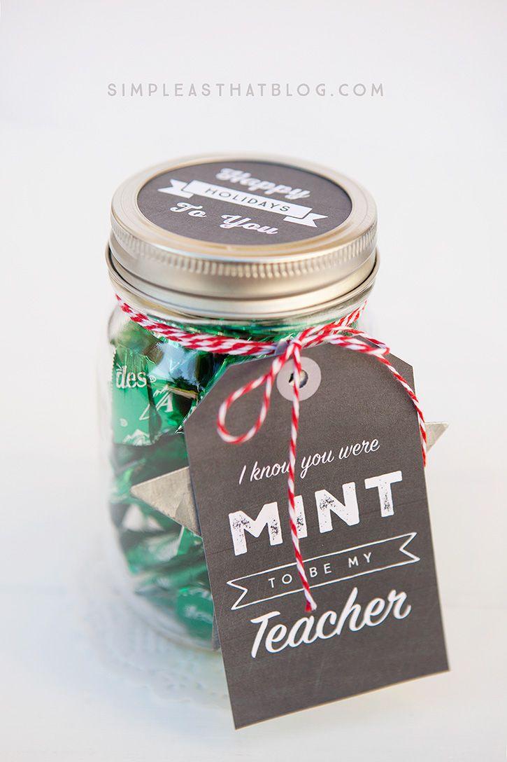 Simple Mason Jar Gifts With Printable Tags Mason Jar Gifts Mason Jar Gifts Diy Jar Gifts