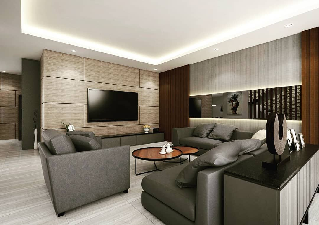 Interior Design Fai Da Te project : livingroom location : ponorogo concept : modern