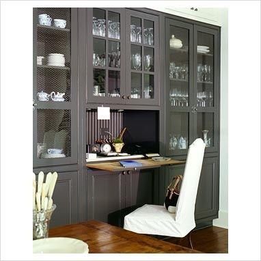 Hidden Desks built in secretary desk, lyon & baehr | furnishing | pinterest