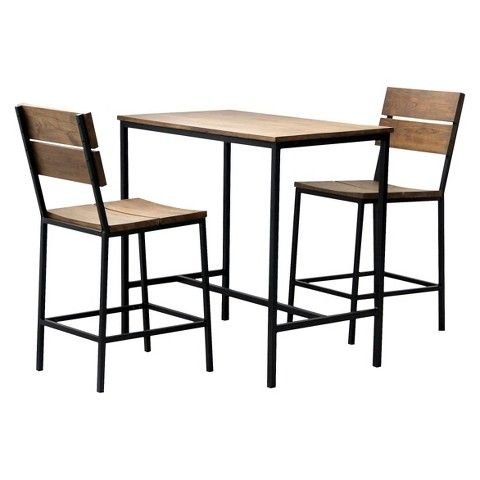 Target $200   Threshold™ 3 Piece Mixed Material Pub Set