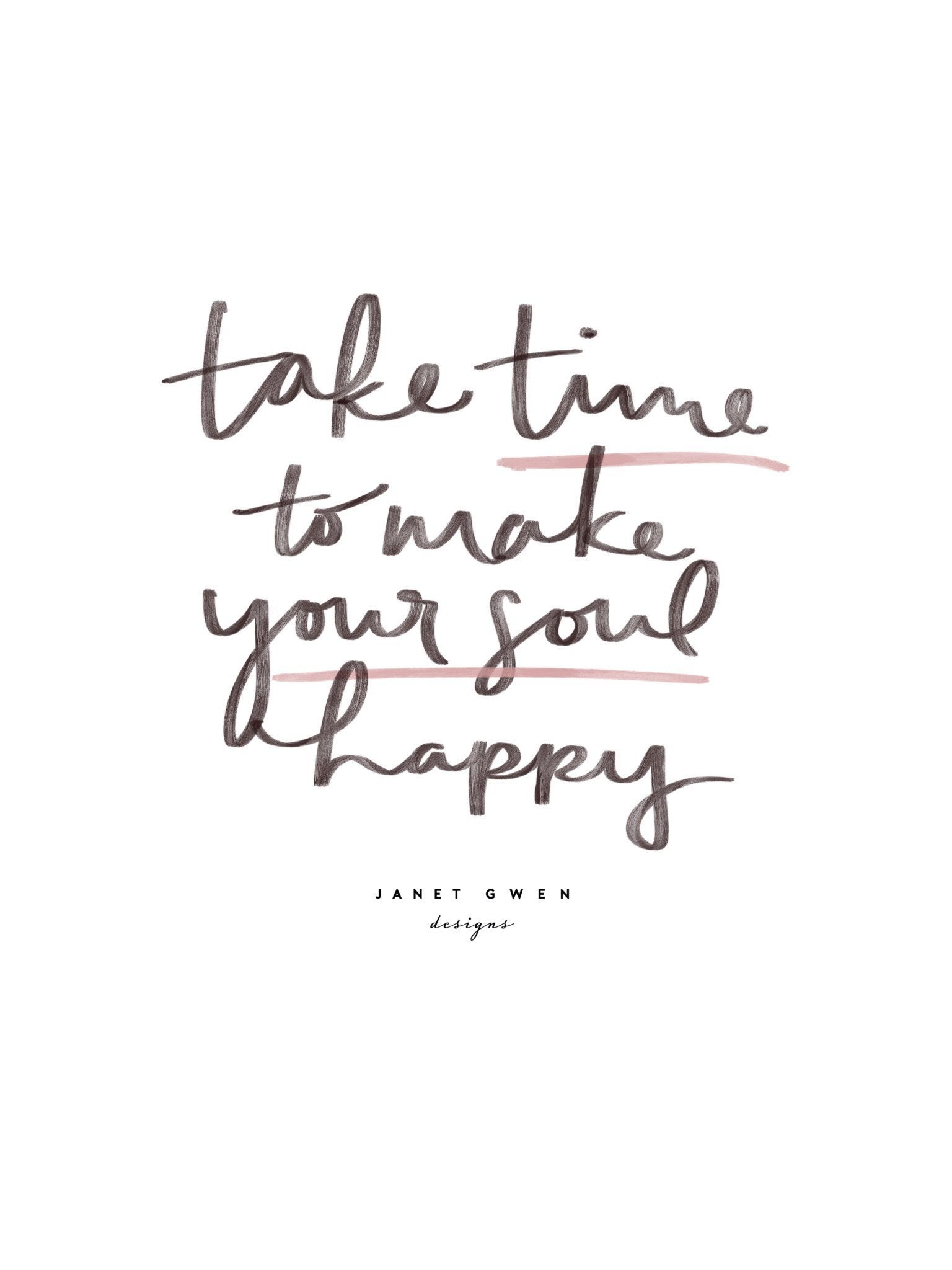 Quotes on Self Care and Taking Time To Do What You Want!