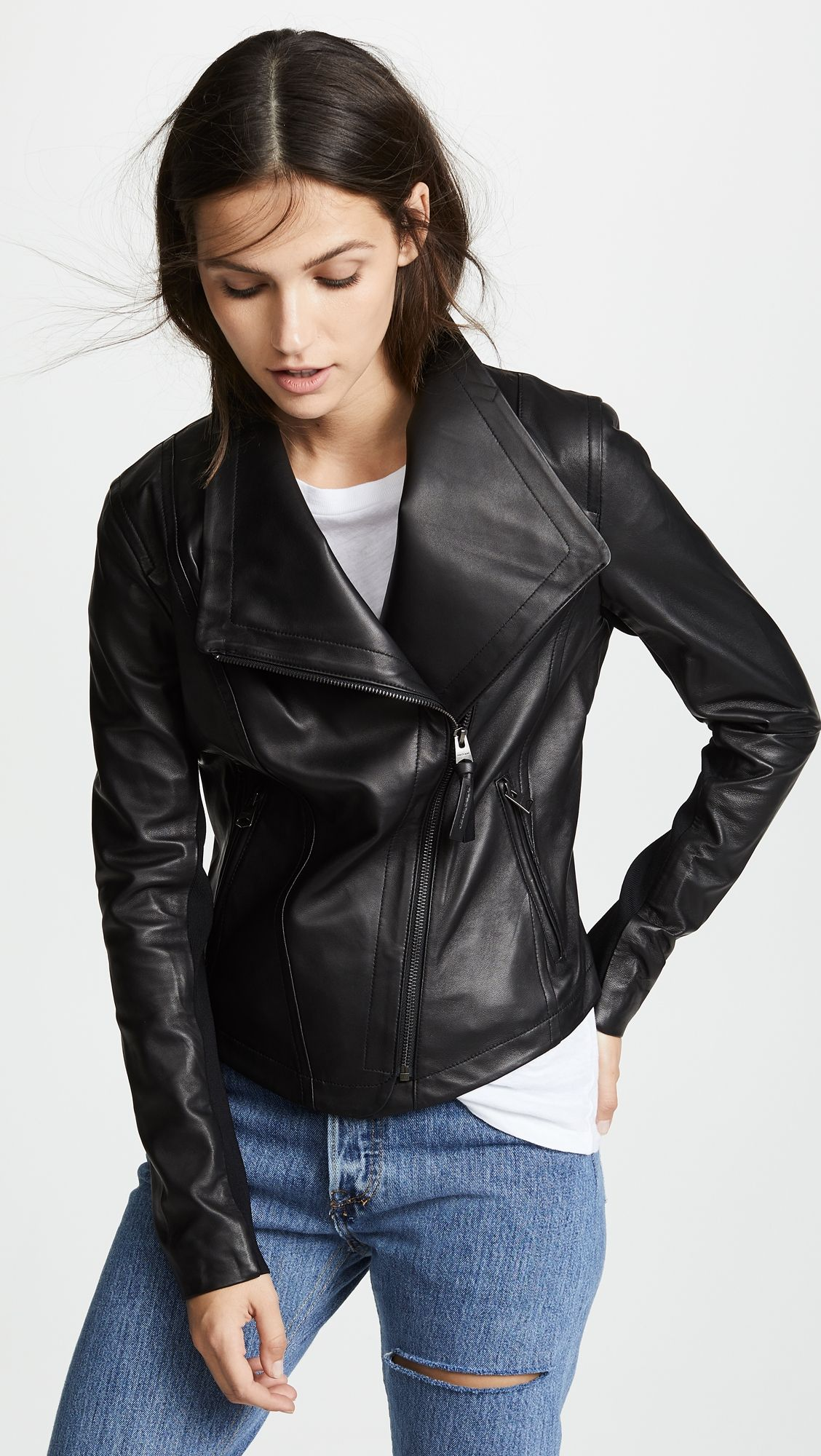 Mackage Pina Leather Jacket Leather jacket, Mackage