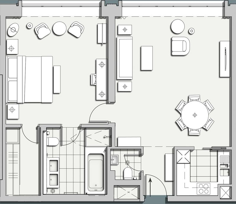 Firmdale Hotels - Apartment 14 Plan Pinterest Apartments