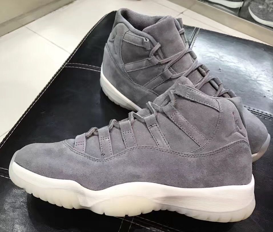 dd8d8436f14870 Detailed Images Of The Air Jordan 11 Suede