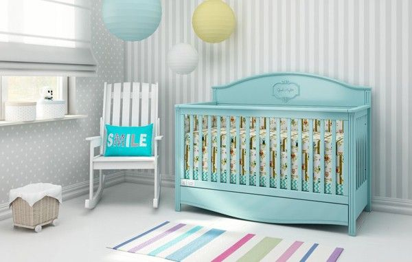 Ledikant goodnight mint babybedje interior kid s room