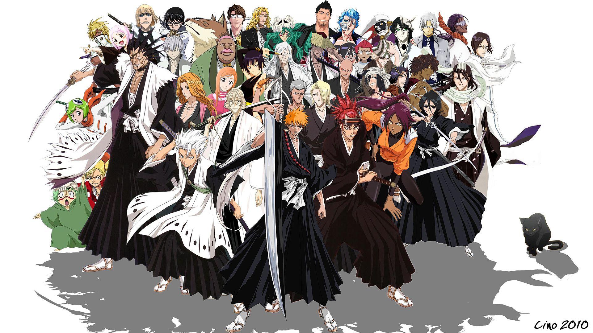 Bleach Characters Bleach anime, Bleach episodes, Bleach