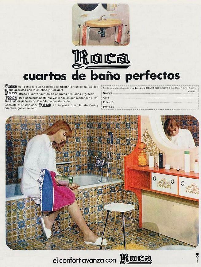 Cuarto de Baño Roca. Año 1970 (With images)   Vintage ads ...