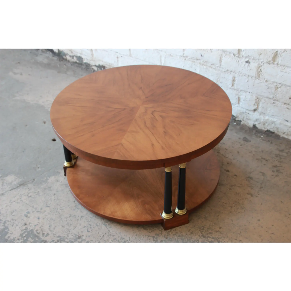 Baker Furniture Round Neoclassical Coffee Table Coffee Table Baker Furniture Cool Coffee Tables [ 1000 x 1000 Pixel ]