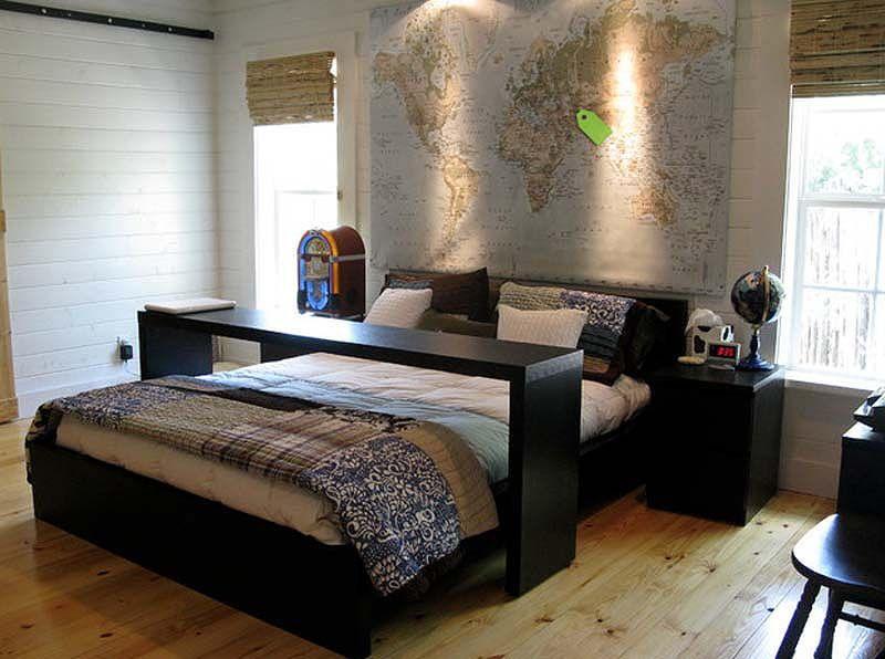 DIY : 15 têtes de lit originales à réaliser avec des matériaux de récupération   Actualités Seloger