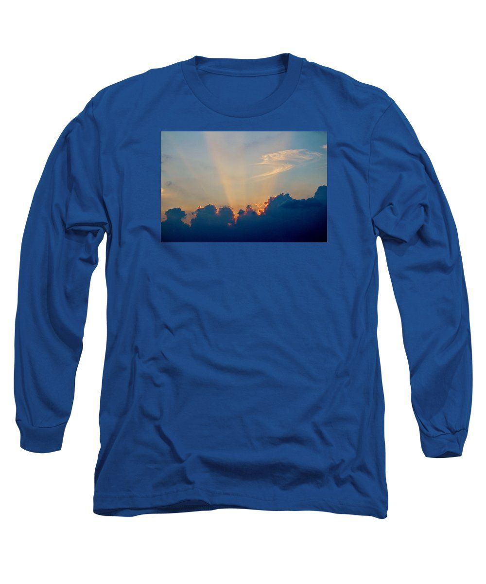 Sun Long Sleeve T-Shirt featuring the photograph Rays Of Hope by Cynthia Guinn