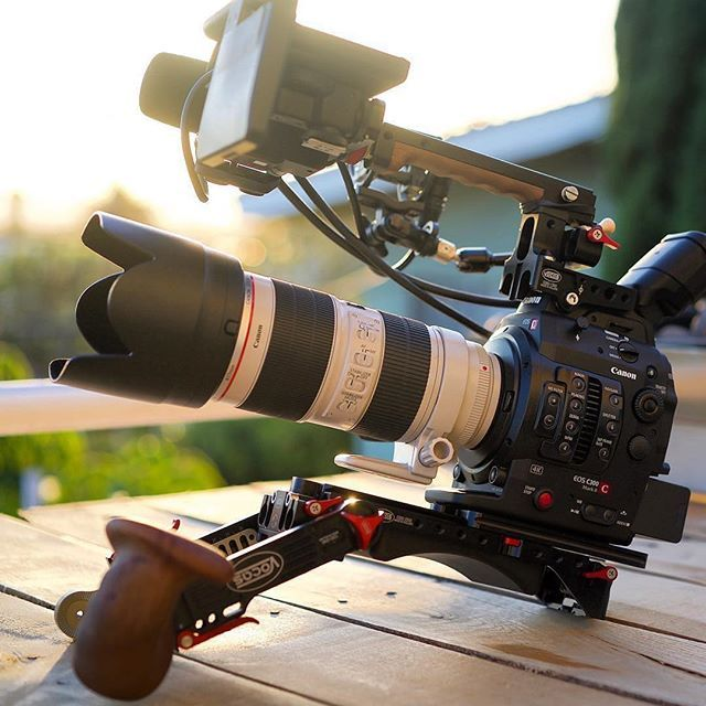 Sweet Setup 🎥 Canon C300 Mark II | Photo by @jessekahle | What's in