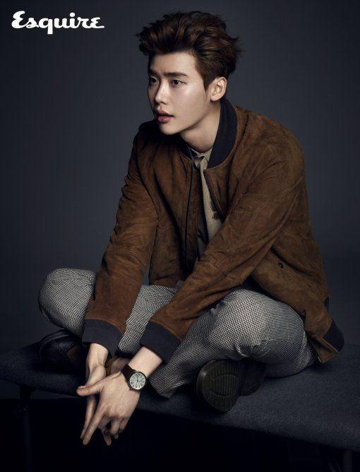 Lee Jong Suk for Esquire - April 2015