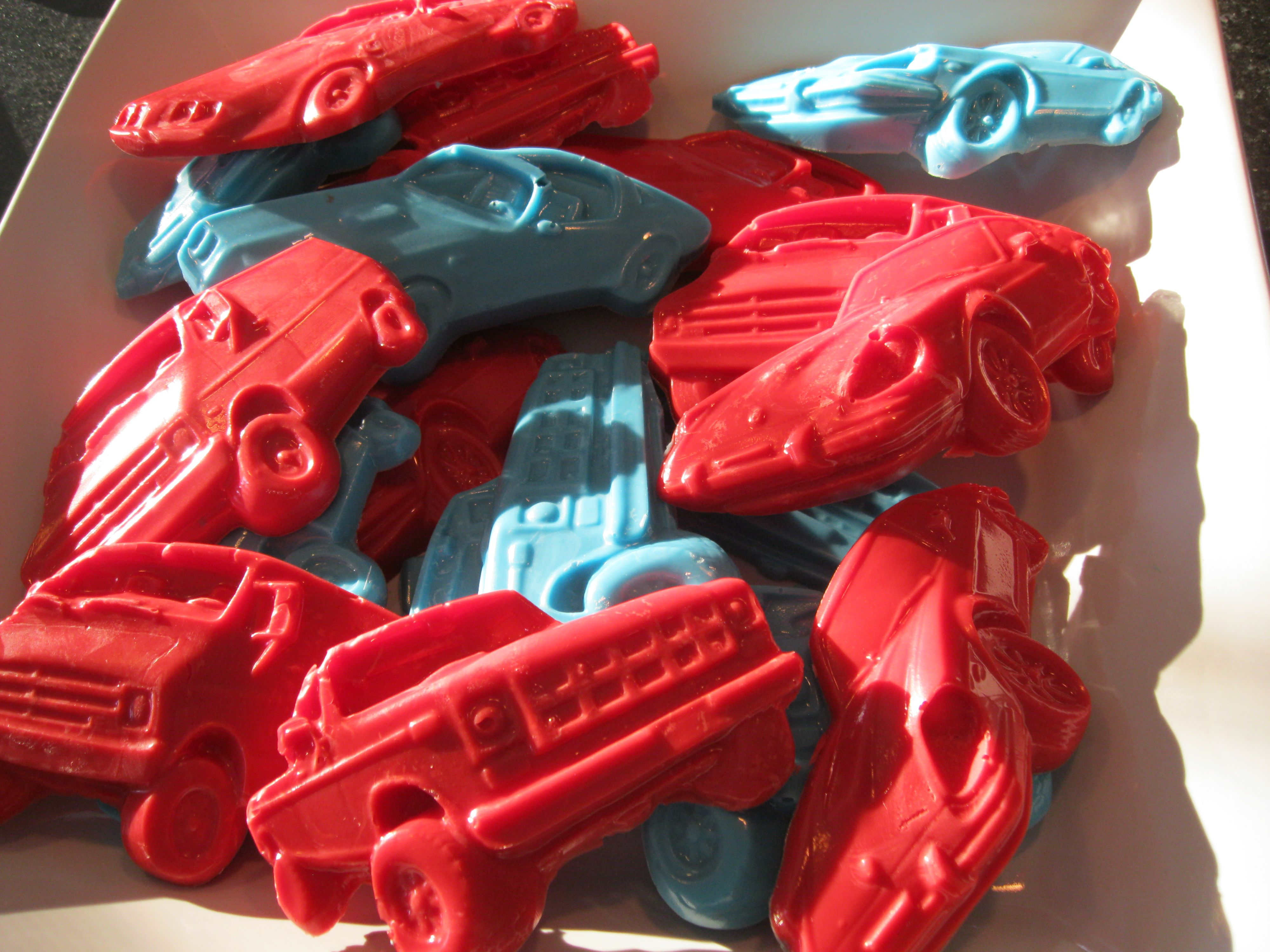 Hot Wheel Party Car Chocolates Made From Molds Found At