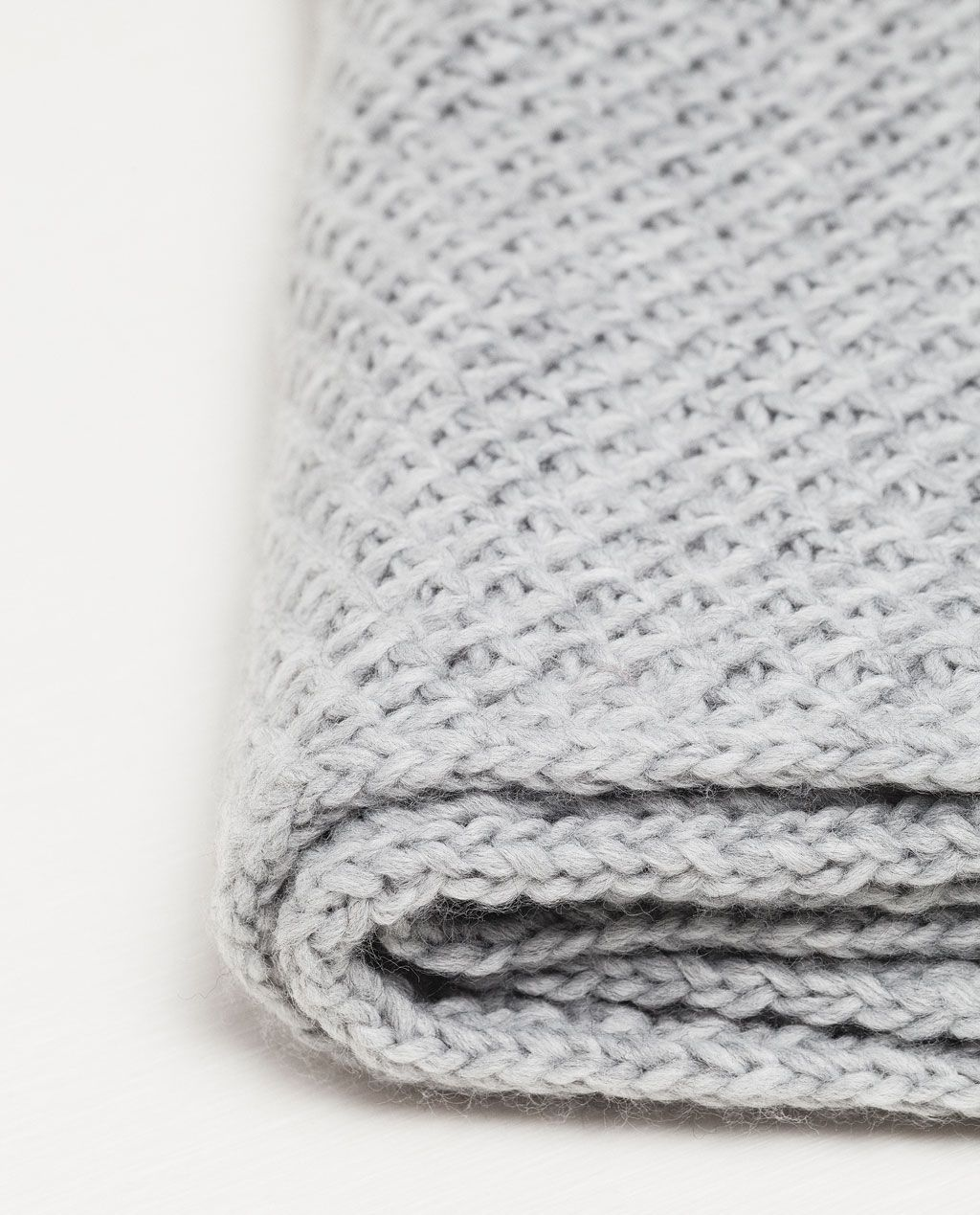 Image 4 of KNIT SCARF from Zara | Accessories | Pinterest ...
