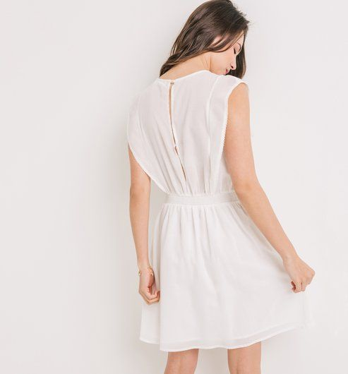 9e5d03e0f Madeira csipkés női ruha ekrü - Promod   szabás-varrás   Ruhák ...