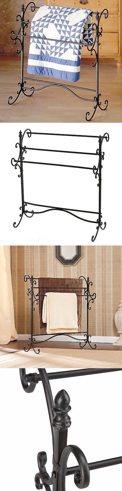 Quilt Hangers And Stands 83959 Quilt Rack Vintage Wrought Iron