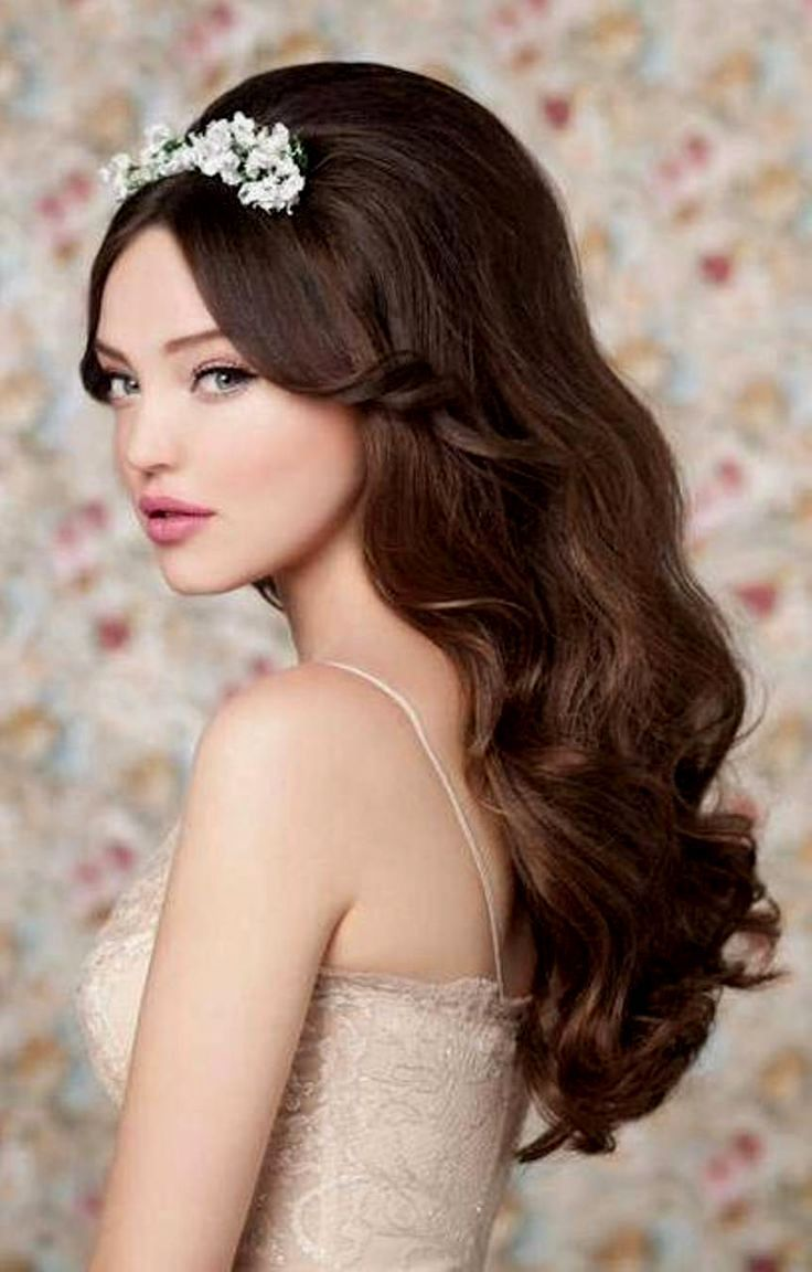 50s Wedding Hairstyles For Long Hair Royal 50 039 S Style Wedding Hairstyles Retro Weddi Hair Styles Vintage Hairstyles For Long Hair Long Hair Styles