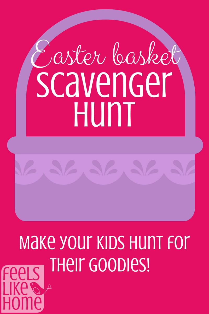 Free printable easter scavenger hunt plastic eggs easter baskets easter bunny negle Gallery