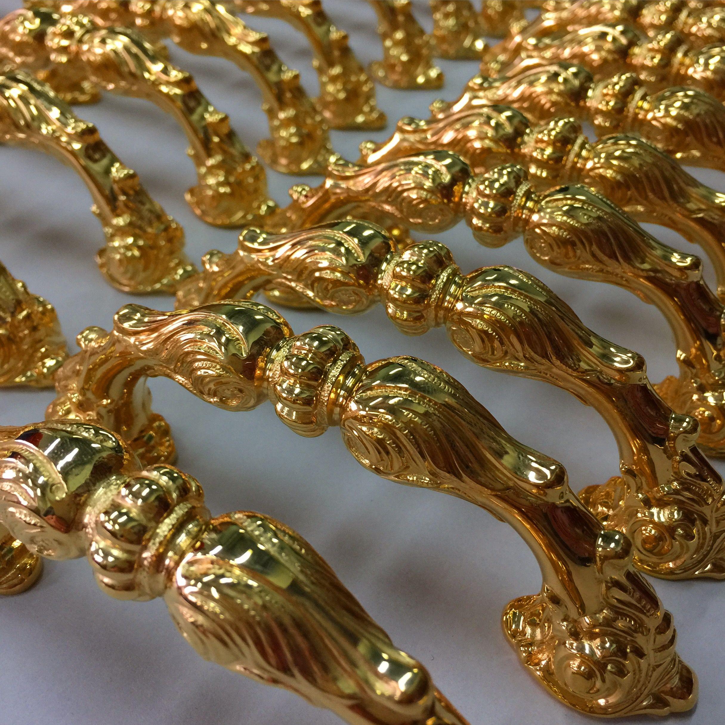 Gold Plated Custom Cabinet Pulls Www.balticacustomhardware.com