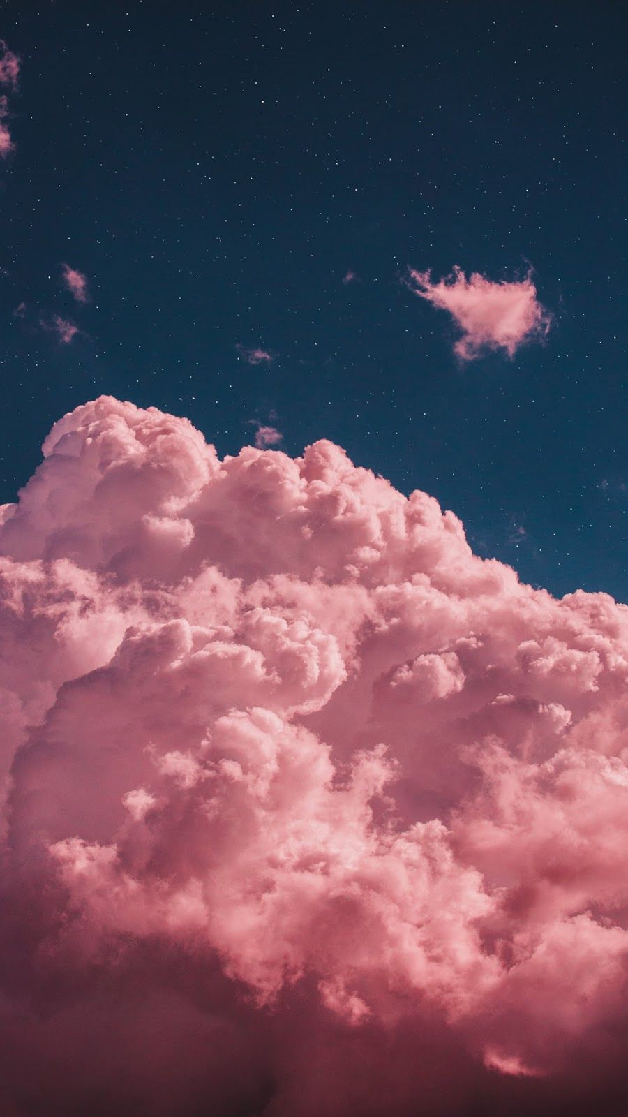 Pink Clouds Wallpaper Clouds Pink Wallpaper Sevimli Duvar