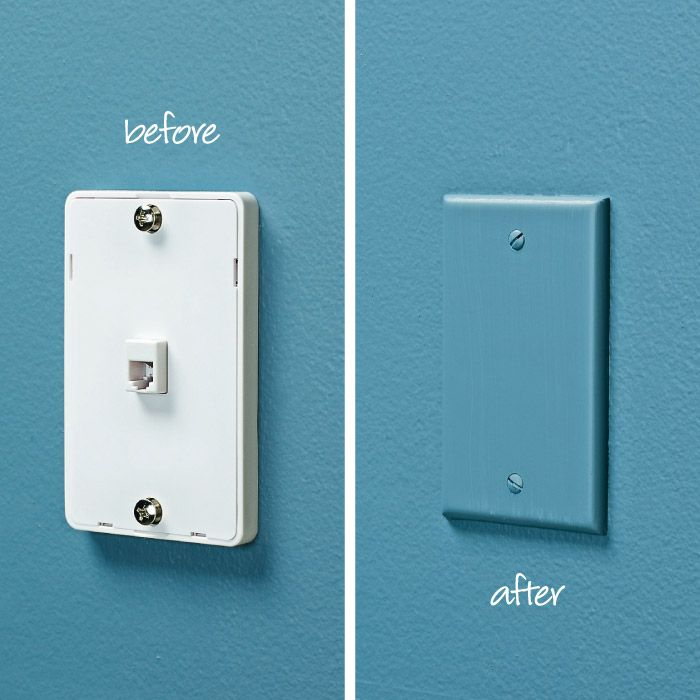 Conceal a Phone Jack | My Home My Style eNotes