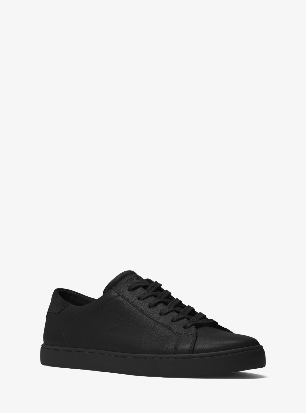 71ca53cac524 MICHAEL KORS Jake Leather Sneaker.  michaelkors  shoes