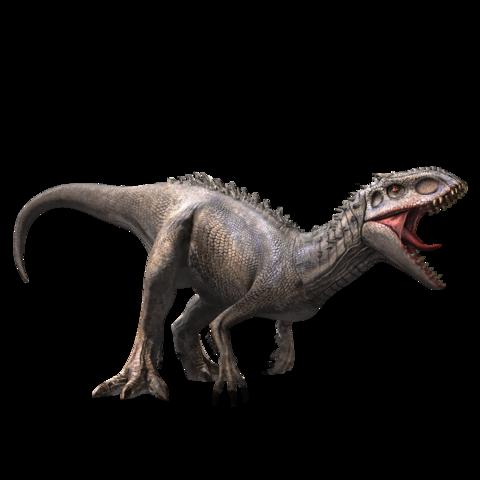 Indominus rex/JW A Mundo jurássico, Dinossauro desenho