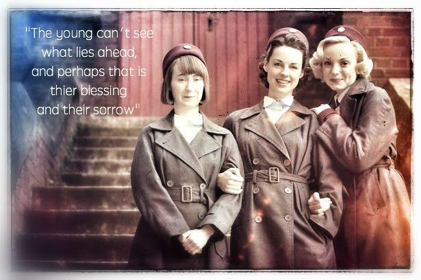 I love this quote so much! Call the Midwife quote Season 3, episode 9 (finale) Quote from the voice of an older Nurse Jenny