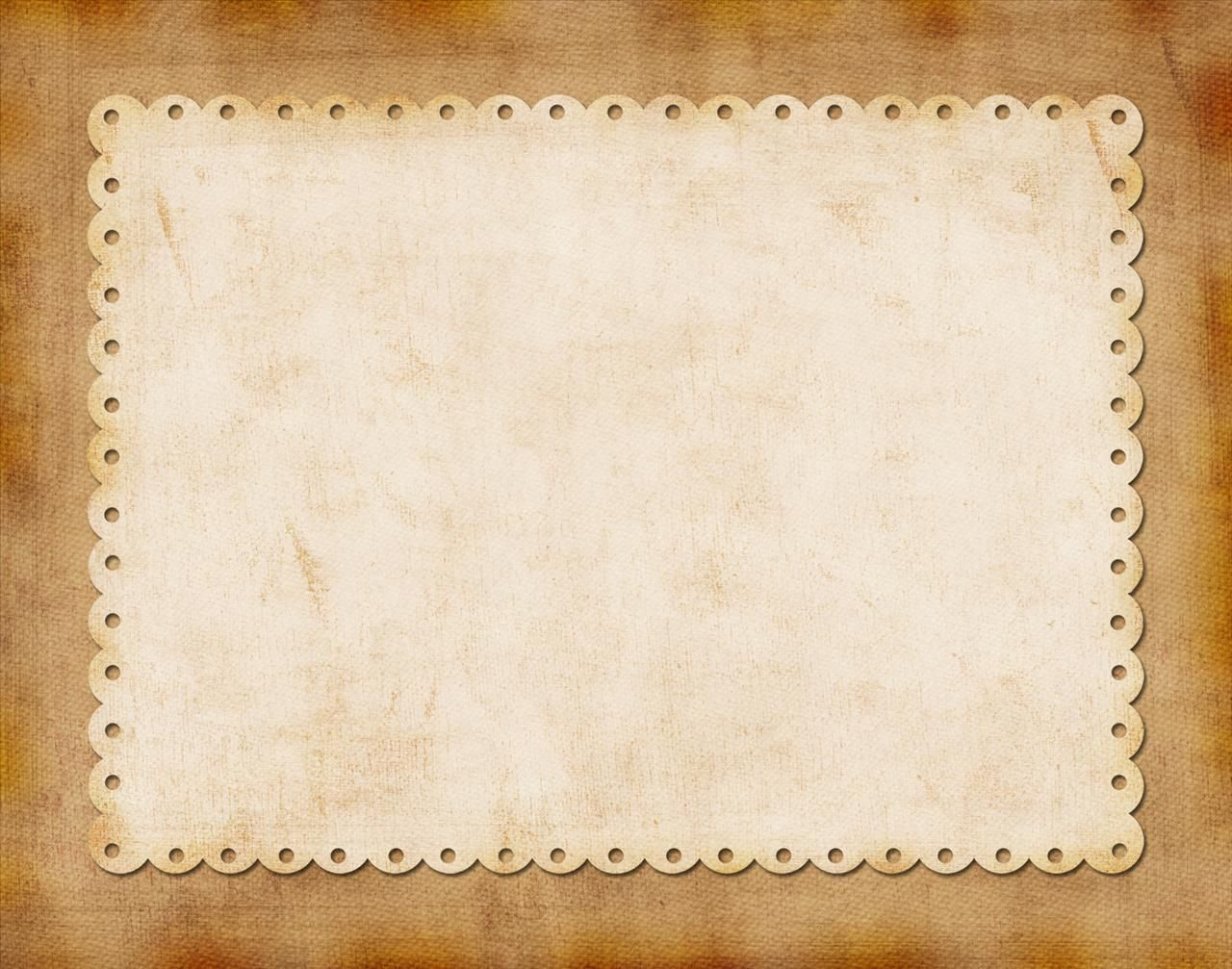 Ivory On Tan Border Backgrounds