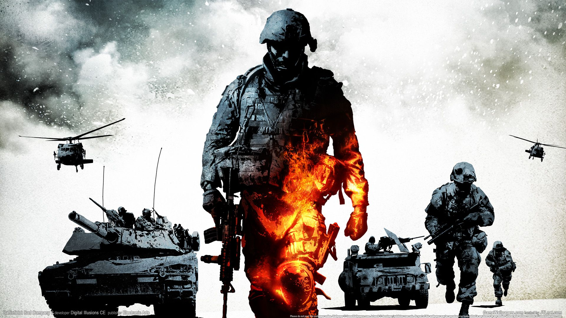 To transfer or set this free battlefield bad company hd - Battlefield bad company 1 wallpaper ...