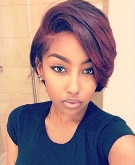 Short Hair 2 Best Short Hairstyles For Black Women 2018 2019 Thick Hair Styles Hair Styles Short Bob Hairstyles