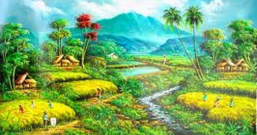 Gambar Pemandangan Alam Indah Kartun Pemandangan Kartun Foto Dunia Alam Semesta Indonesia 50 Gambar Ilustrasi Lukisan Pemandangan Fotografi Alam Foto Alam