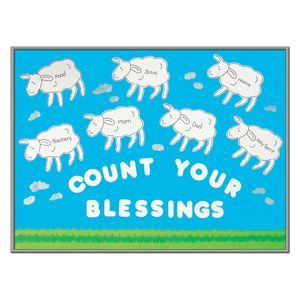 church count your blessings bulletin board would be cute have kidschurch count your blessings bulletin board would be cute have kids make sheep with cotton balls \