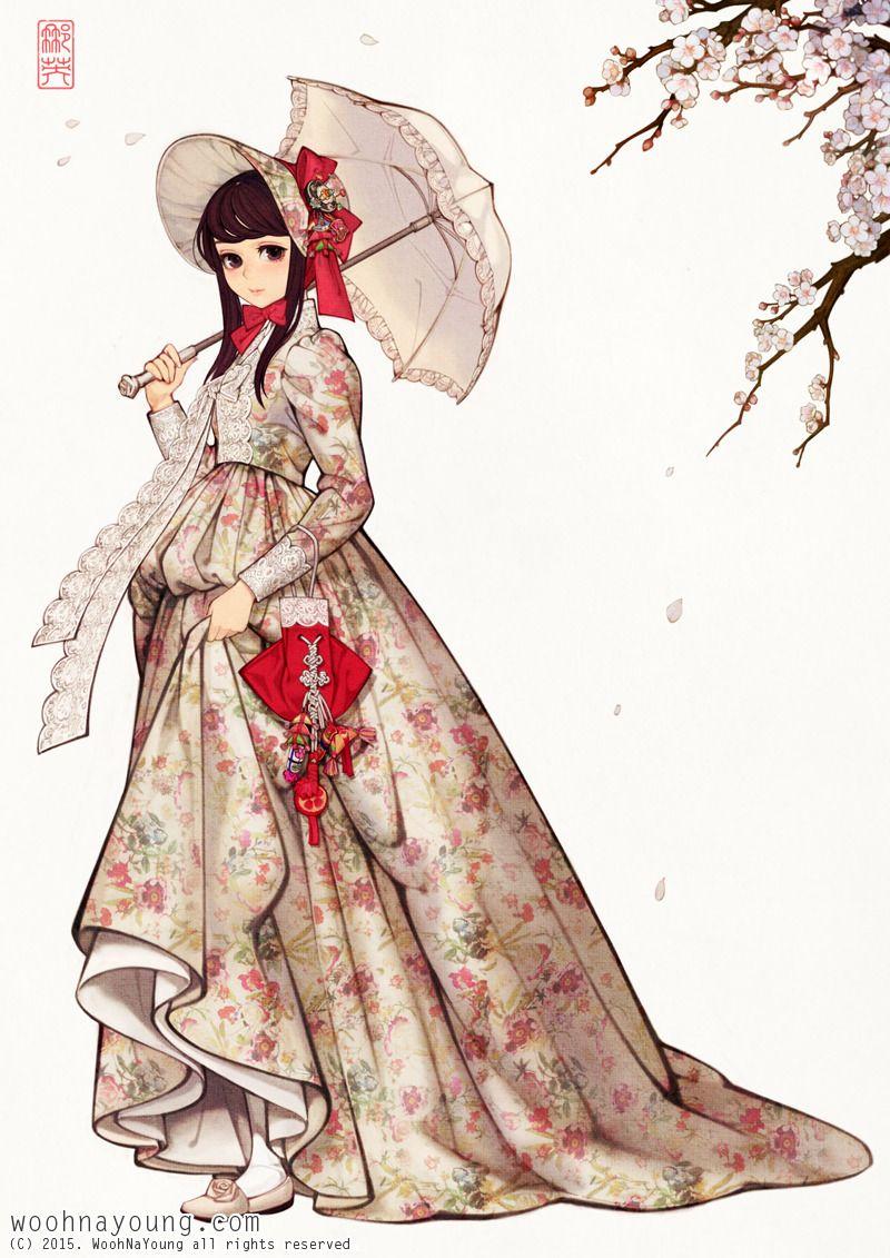 한국 패션에 있는 핀