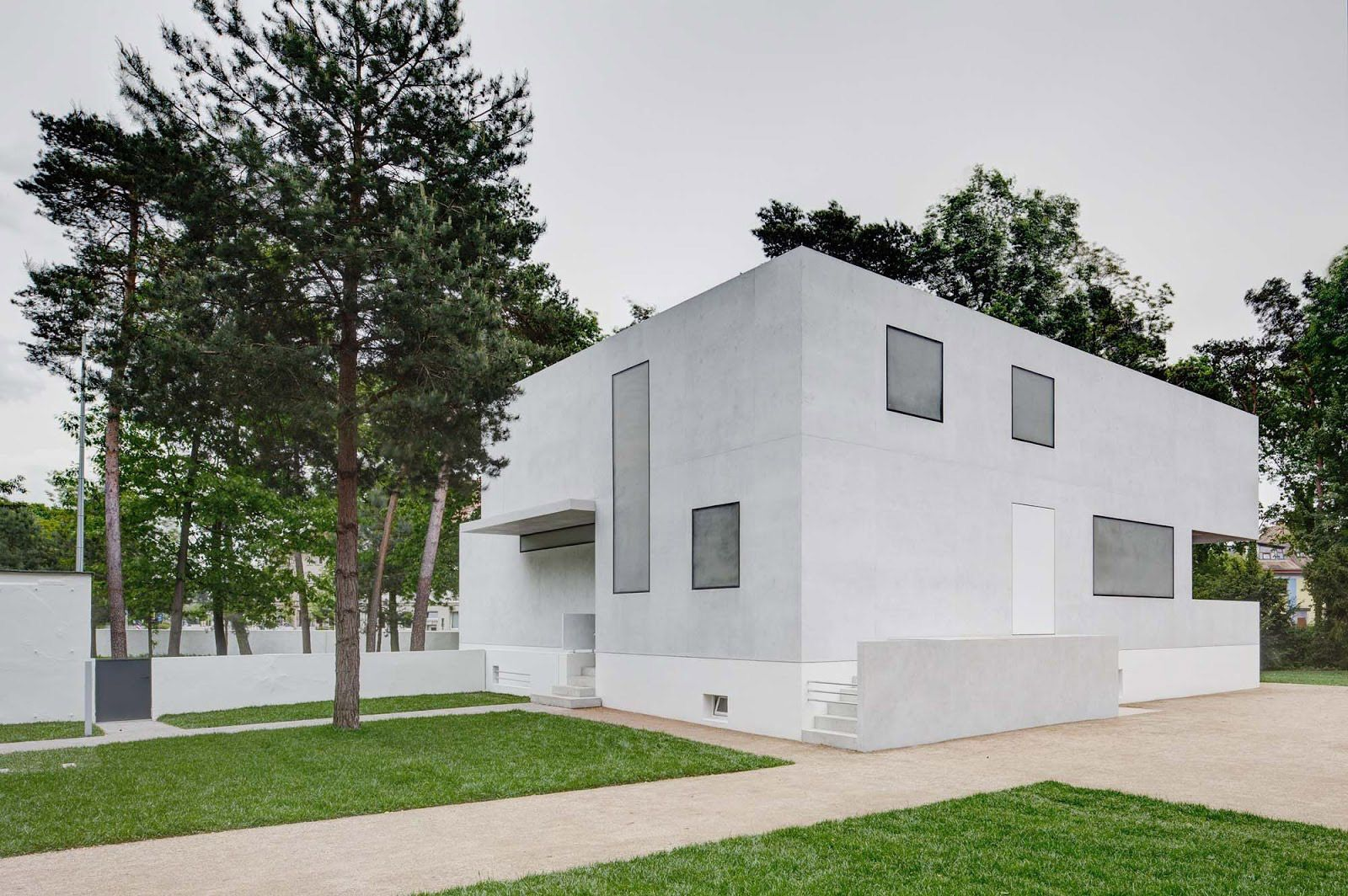 Bauhaus Architekturstil House Gropius Minimalissimo Architecture German Architecture