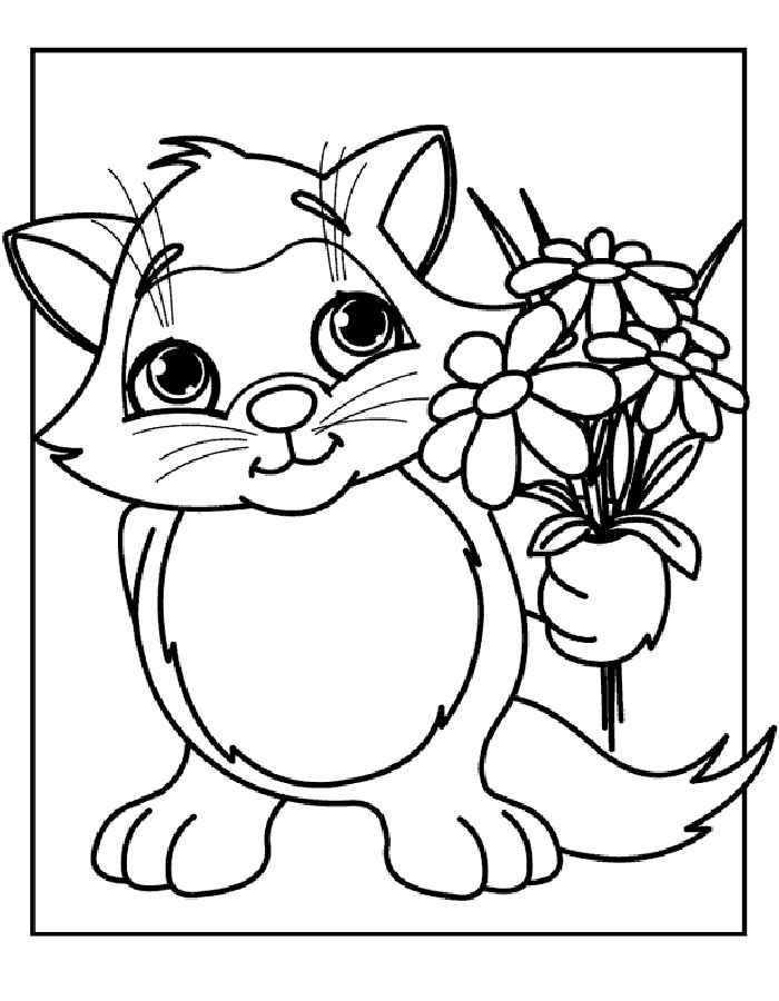 _kiski8 | Раскраска животные | Шаблоны животных, Цветочные ...