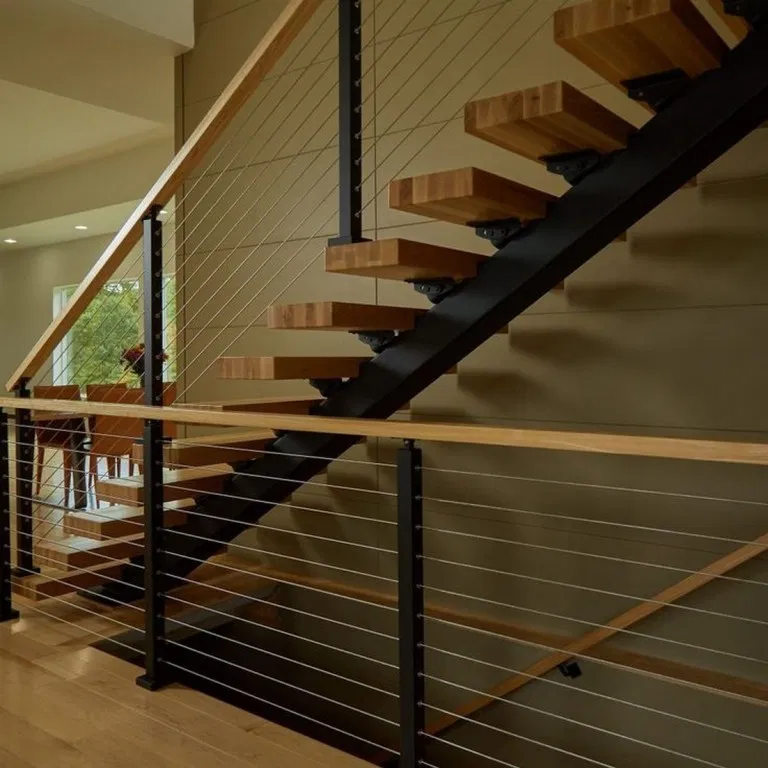 80 Awesome Modern Farmhouse Staircase Decor Ideas: 80 Stunning And Unique Stair Design Ideas