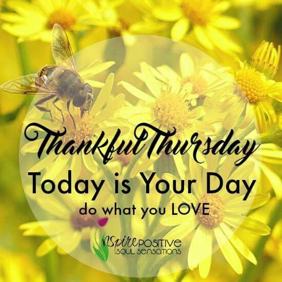 Thankful Thursday Inspirational Quotes