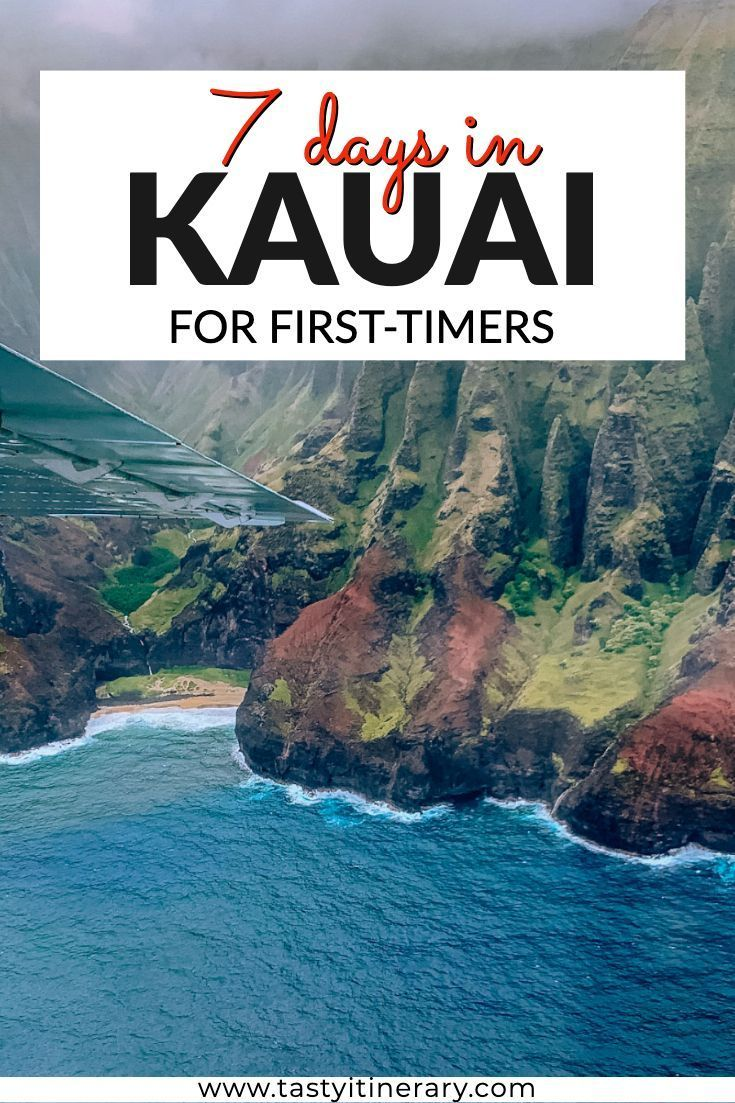 7 Days in Kauai for First-Timers